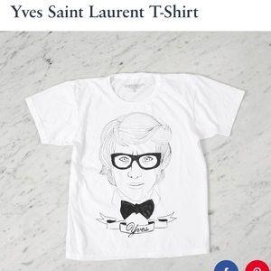 Deerdana Yves St. Laurent shirt.